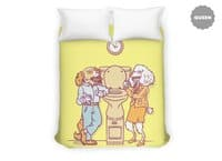 Water cooler talk - duvet-cover - small view