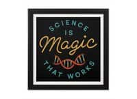Science is Magic - black-square-framed-print - small view