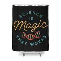 Science is Magic - shower-curtain - small view