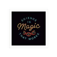 Science is Magic - square-print - small view