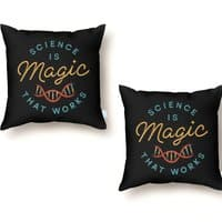 Science is Magic - throw-pillow - small view