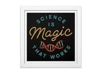 Science is Magic - white-square-framed-print - small view