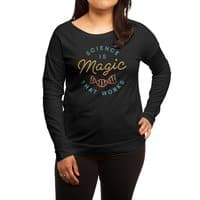 Science is Magic - womens-long-sleeve-terry-scoop - small view
