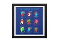 She Blinded Me with Science - black-square-framed-print - small view