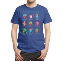 She Blinded Me with Science - mens-triblend-tee - small view