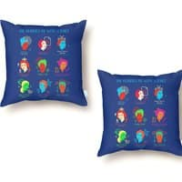 She Blinded Me with Science - throw-pillow - small view