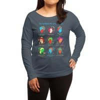 She Blinded Me with Science - womens-long-sleeve-terry-scoop - small view