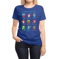 She Blinded Me with Science - womens-regular-tee - small view