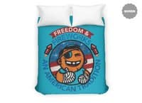 Fun with Fireworks - duvet-cover - small view