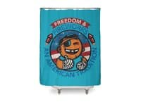 Fun with Fireworks - shower-curtain - small view
