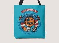 Fun with Fireworks - tote-bag - small view