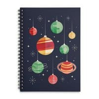 Joy to the Universe - spiral-notebook - small view