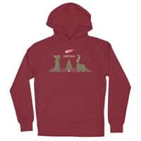 Merry Extinction  - unisex-lightweight-pullover-hoody - small view