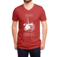 Baaah Humbug - vneck - small view