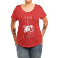 Baaah Humbug - womens-dolman - small view