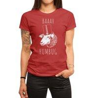 Baaah Humbug - womens-regular-tee - small view