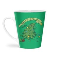 Happy Holidaze - latte-mug - small view