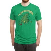 Happy Holidaze - mens-triblend-tee - small view