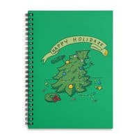 Happy Holidaze - spiral-notebook - small view