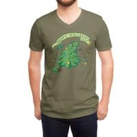 Happy Holidaze - vneck - small view