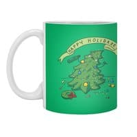 Happy Holidaze - white-mug - small view