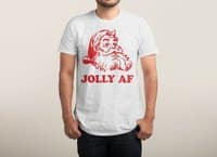 Jolly AF - mens-triblend-tee - small view
