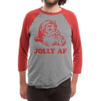 Jolly AF - triblend-34-sleeve-raglan-tee - small view