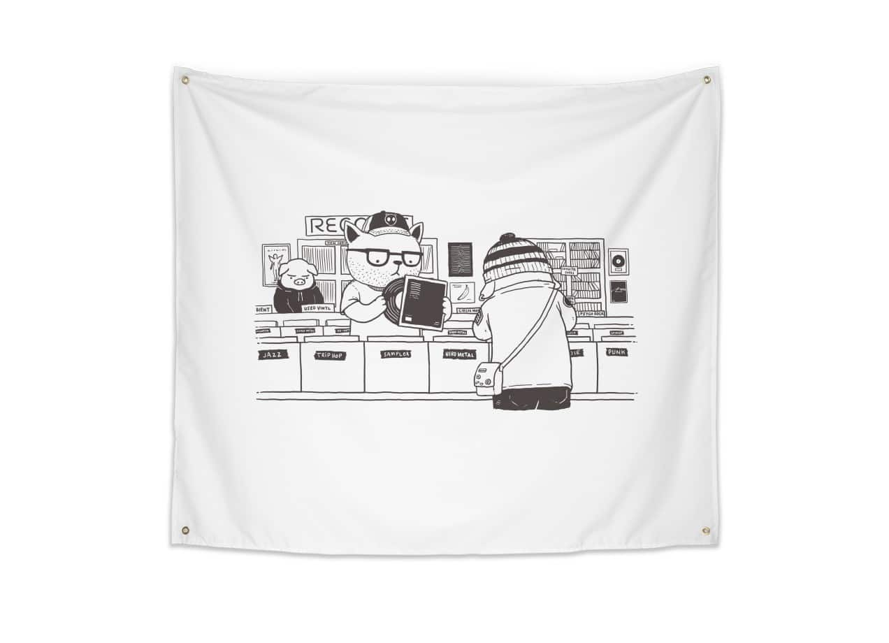dd590ceda At the Record Store by Pigboom Kaboom | Threadless