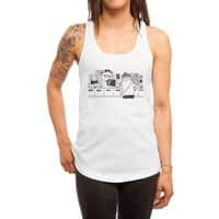 At the Record Store - womens-racerback-tank - small view