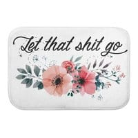 Let that shit go - bath-mat - small view