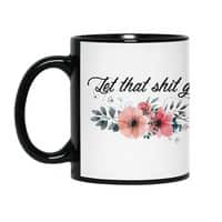 Let that shit go - black-mug - small view