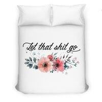 Let that shit go - duvet-cover - small view