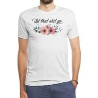 Let that shit go - mens-triblend-tee - small view