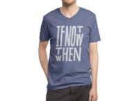 If Not Now - vneck - small view