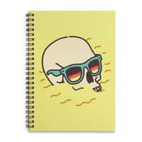 Beach Lover - spiral-notebook - small view