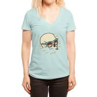 Beach Lover - womens-deep-v-neck - small view