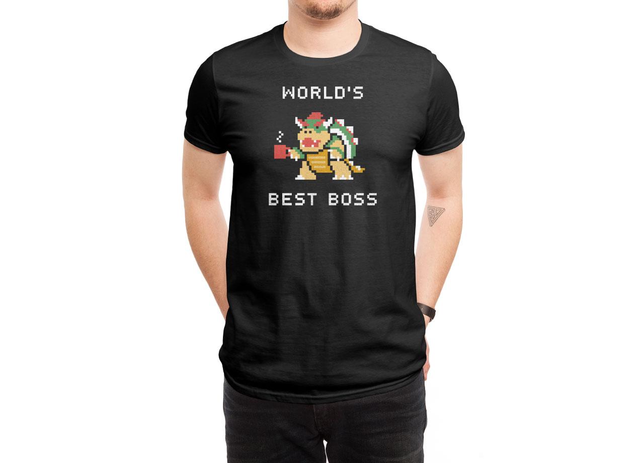 aa3f90a2 World's Best Boss by Cody Weiler | Men's T-Shirt Threadless