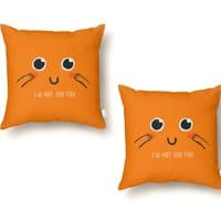 Hot for You - throw-pillow - small view