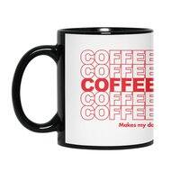 Coffee Makes My Day - black-mug - small view