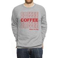 Coffee Makes My Day - crew-sweatshirt - small view