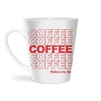 Coffee Makes My Day - latte-mug - small view