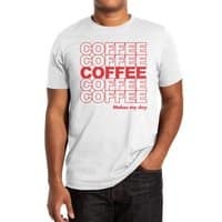 Coffee Makes My Day - mens-extra-soft-tee - small view