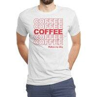 Coffee Makes My Day - mens-triblend-tee - small view