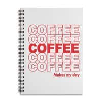 Coffee Makes My Day - spiral-notebook - small view