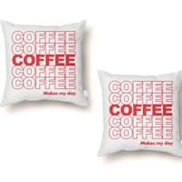 Coffee Makes My Day - throw-pillow - small view