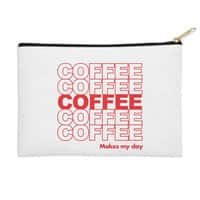 Coffee Makes My Day - zip-pouch - small view