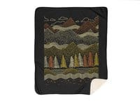 Misty Mountains - blanket - small view