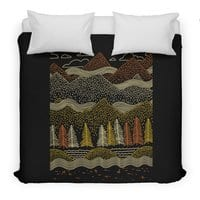 Misty Mountains - duvet-cover - small view