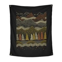 Misty Mountains - indoor-wall-tapestry-vertical - small view