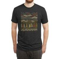 Misty Mountains - mens-triblend-tee - small view
